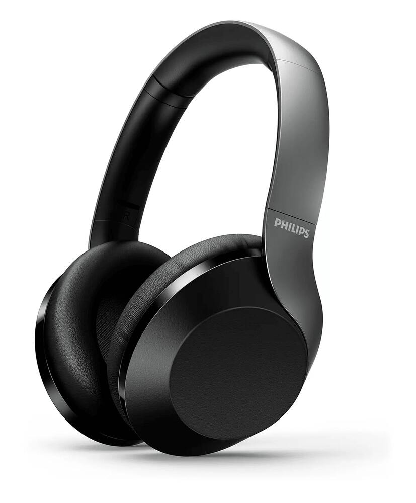 Fone de Ouvido Sem Fio Philips TAPH805 Bluetooth Headphone c/ Cancelamento de Ruídos Ativo TAPH805BK