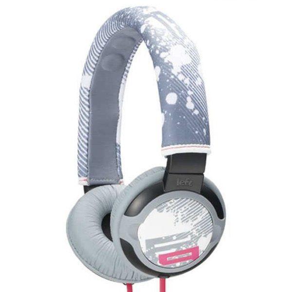 Fone de Ouvido Sony MDR-PQ2 Stereo Headphone Cinza Rosa