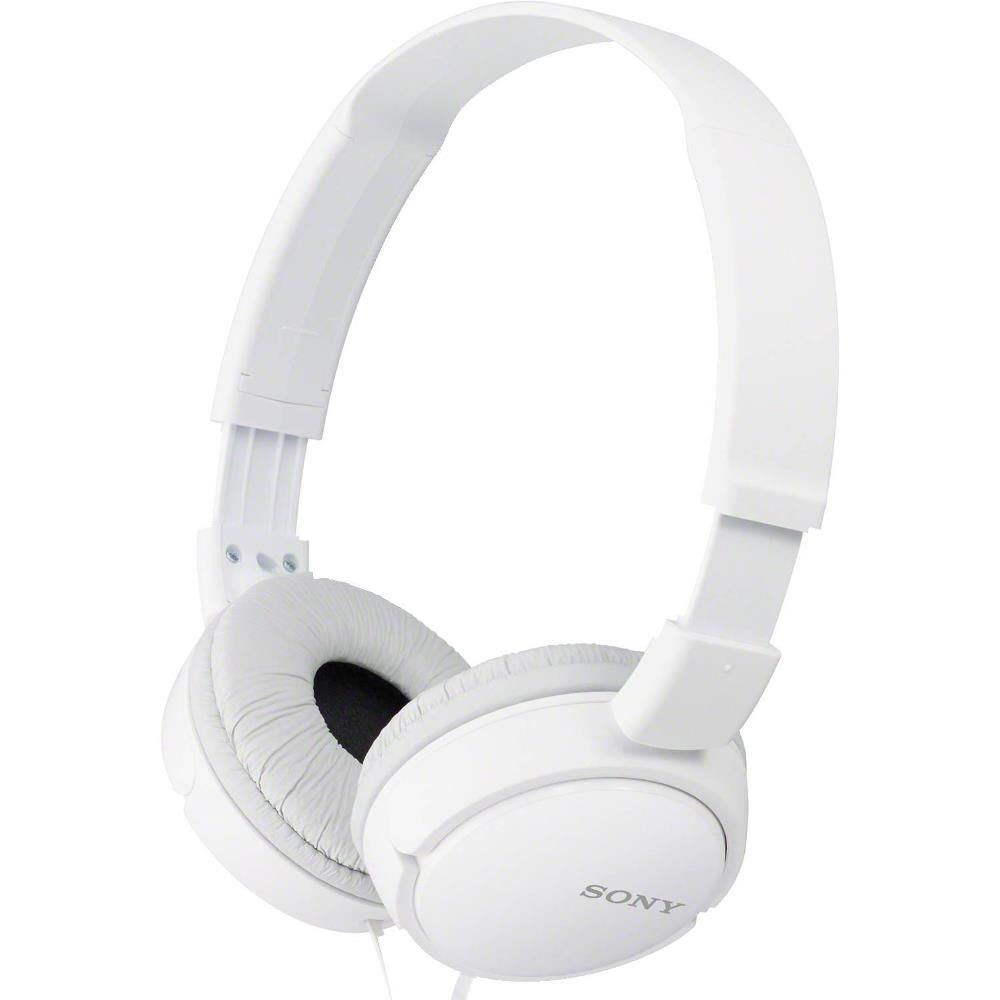 Fone de Ouvido Sony MDR-ZX110 Branco Headphone Universal P2