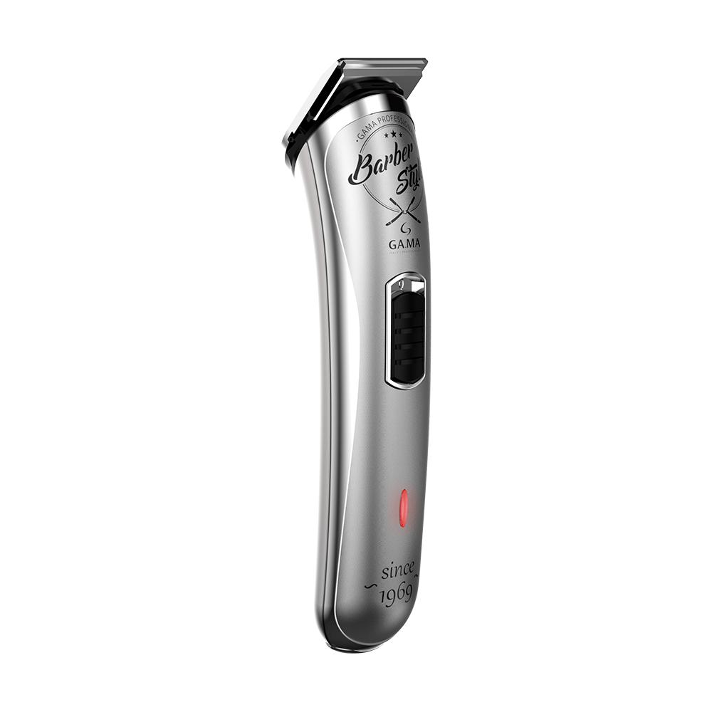 Máquina de Acabamento GAMA GT527 Barber Style Aparador Sem Fio Recarregável USB Bivolt GA.MA Italy