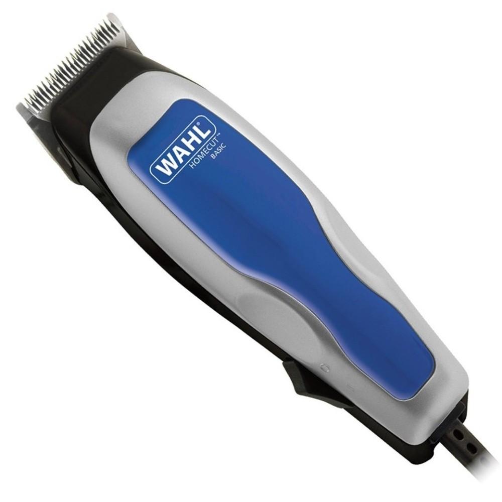 Máquina de Cortar Cabelo Wahl Home Cut Basic 110V Aparador com Lâminas Autoafiáveis Pente 3mm a 25mm