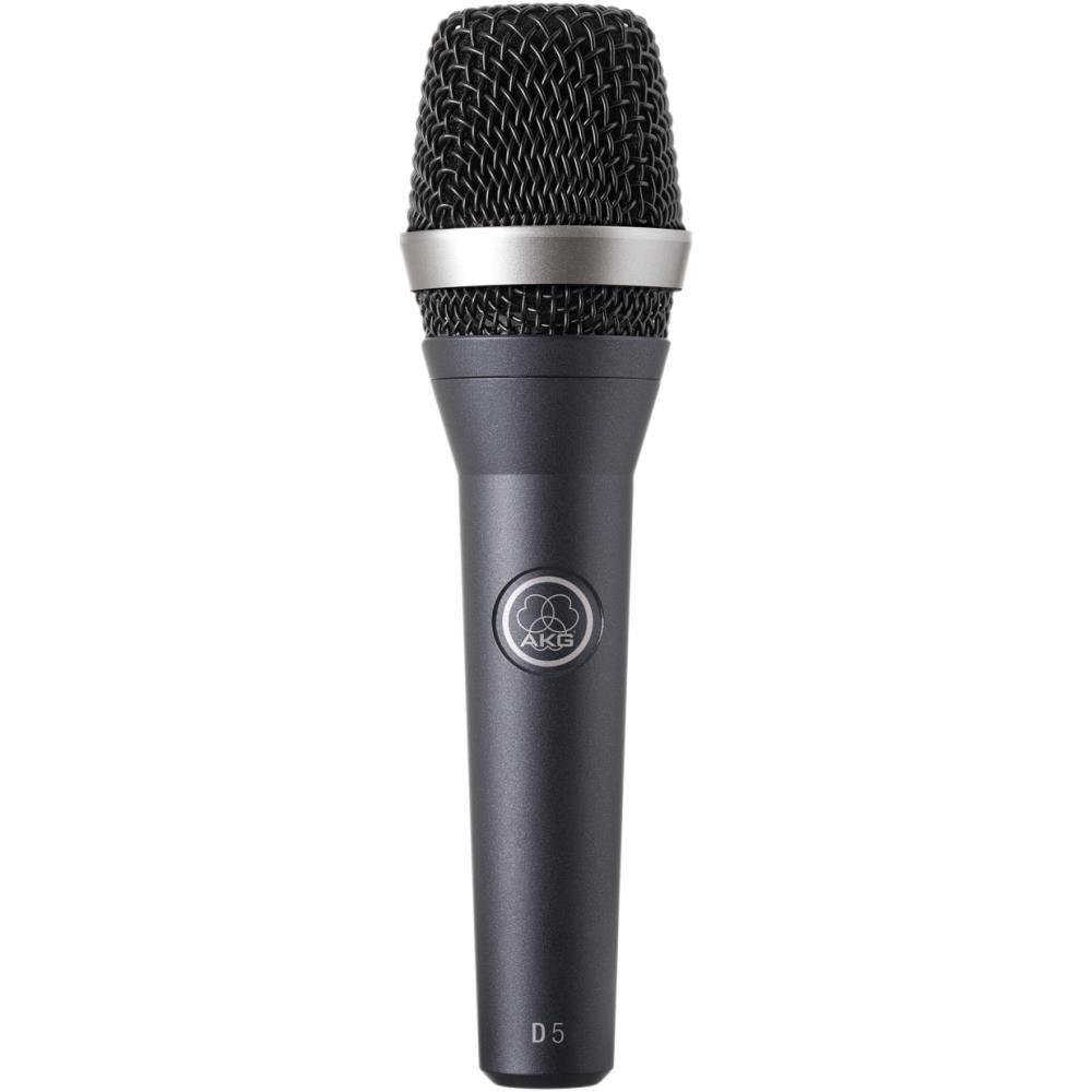Microfone Profissional AKG D5 Vocal  Dinâmico Supercardioide