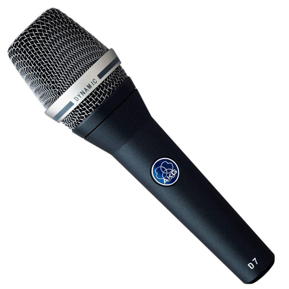 Microfone Profissional AKG D7 Vocal  Dinâmico Supercardioide