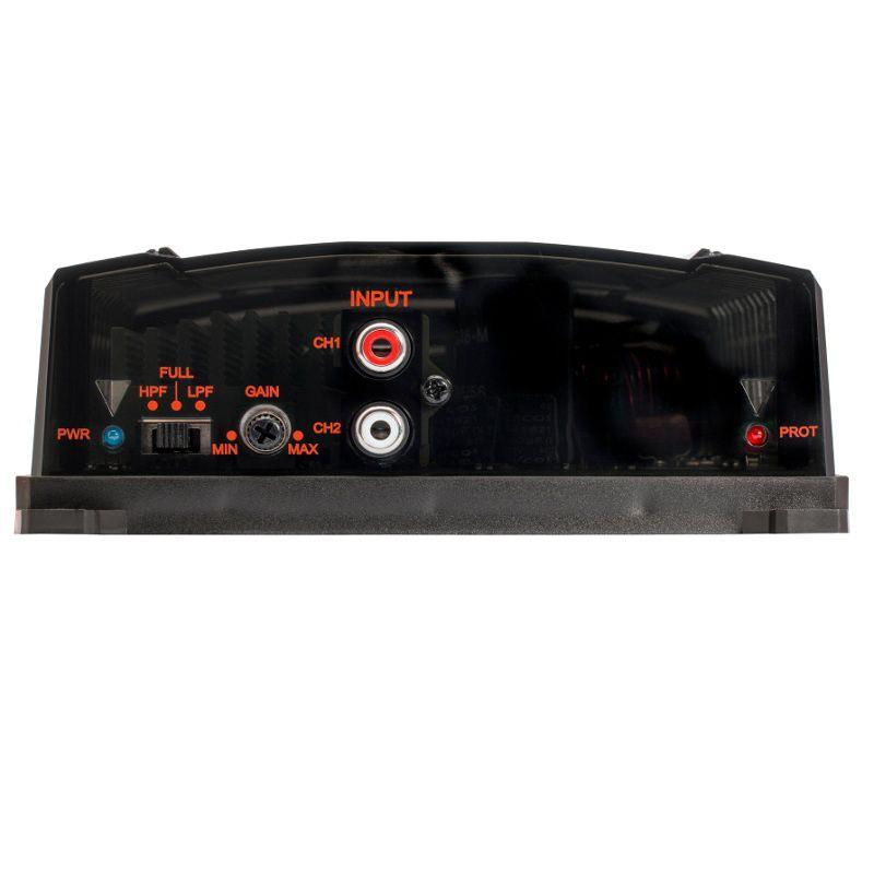 Modulo Amplificador JBL BR-A 400.1 para Som Automotivo 400 Watts RMS
