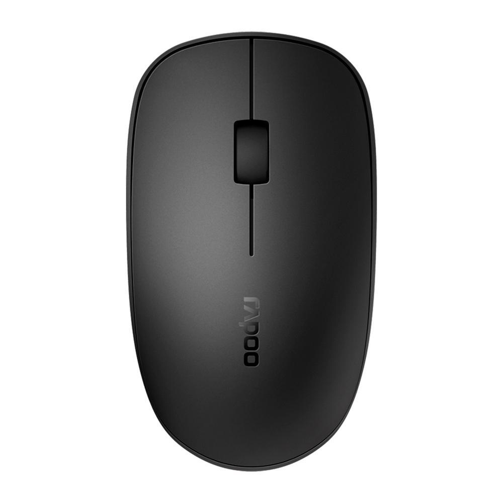 Mouse Bluetooth + Wireless 2.4 Ghz M200 Silent Rapoo RA011 p/ Celular Smartphone Tablet Notebook PC