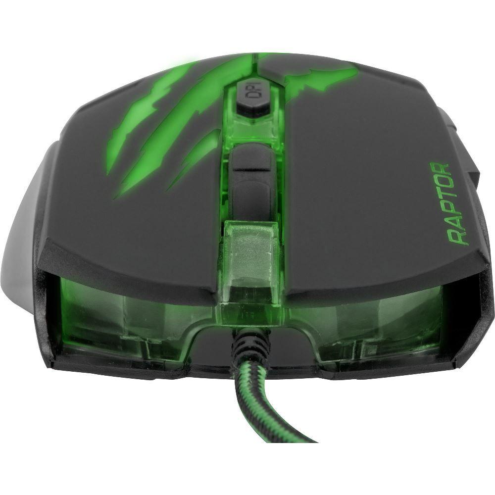 Mouse Gamer Raptor Fortrek OM-801 USB 3200DPI