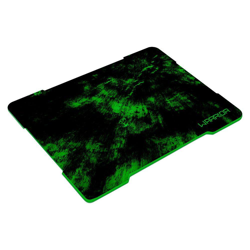 Mouse Pad Gamer Warrior Multilaser - Verde