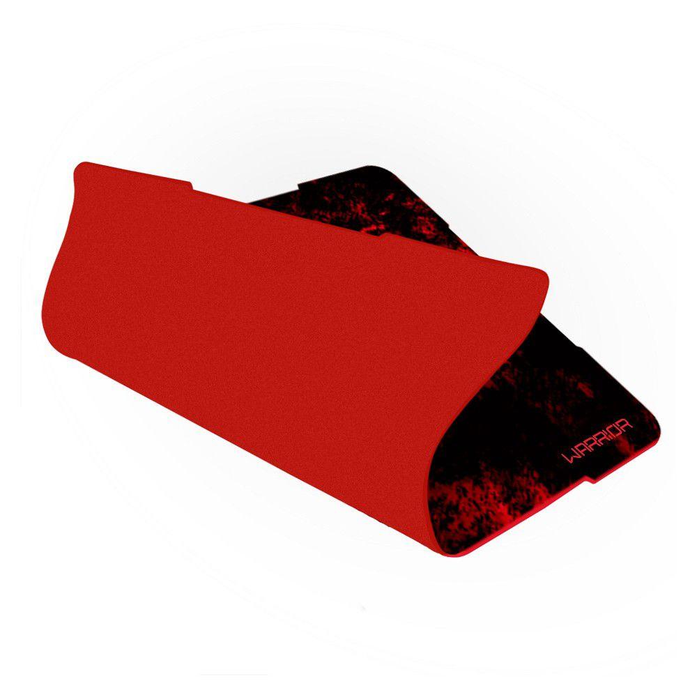 Mouse Pad Gamer Warrior Multilaser - Vermelho