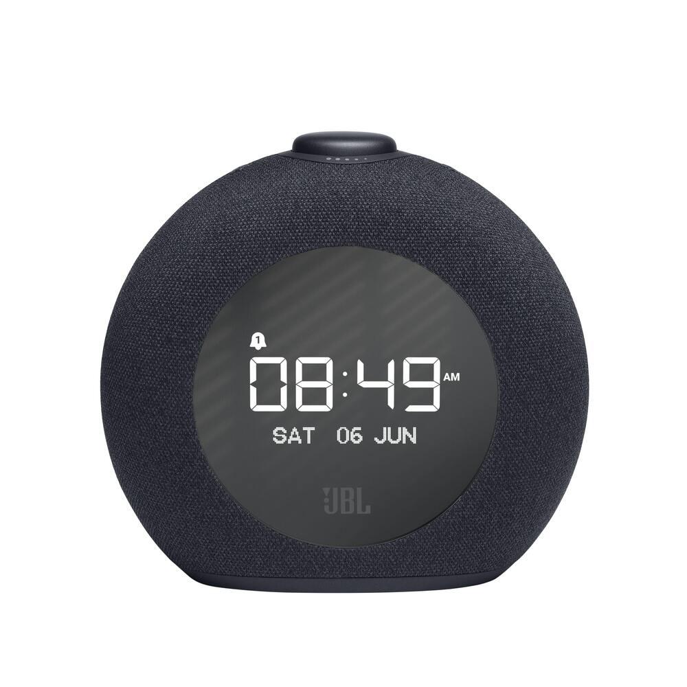 Rádio Relógio JBL Horizon 2 Preto Caixa de Som Bluetooth FM Alarme Despertador JBLHORIZON2BLKBR