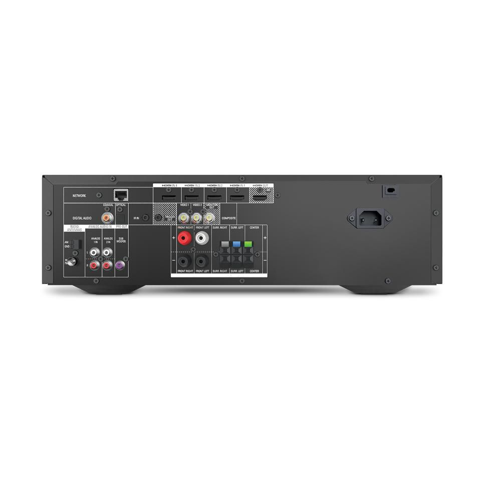 Receiver Harman Kardon AVR1510S 120V Áudio Surround 5.1 e Vídeo 4K 3D 375 Watts 4 Entradas HDMI Spotify Connect