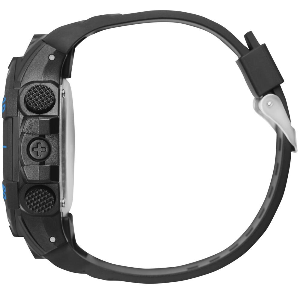 Relógio Masculino Mormaii Acqua Action Preto Azul Digital Cronógrafo Data Despertador MO3690AB/8A