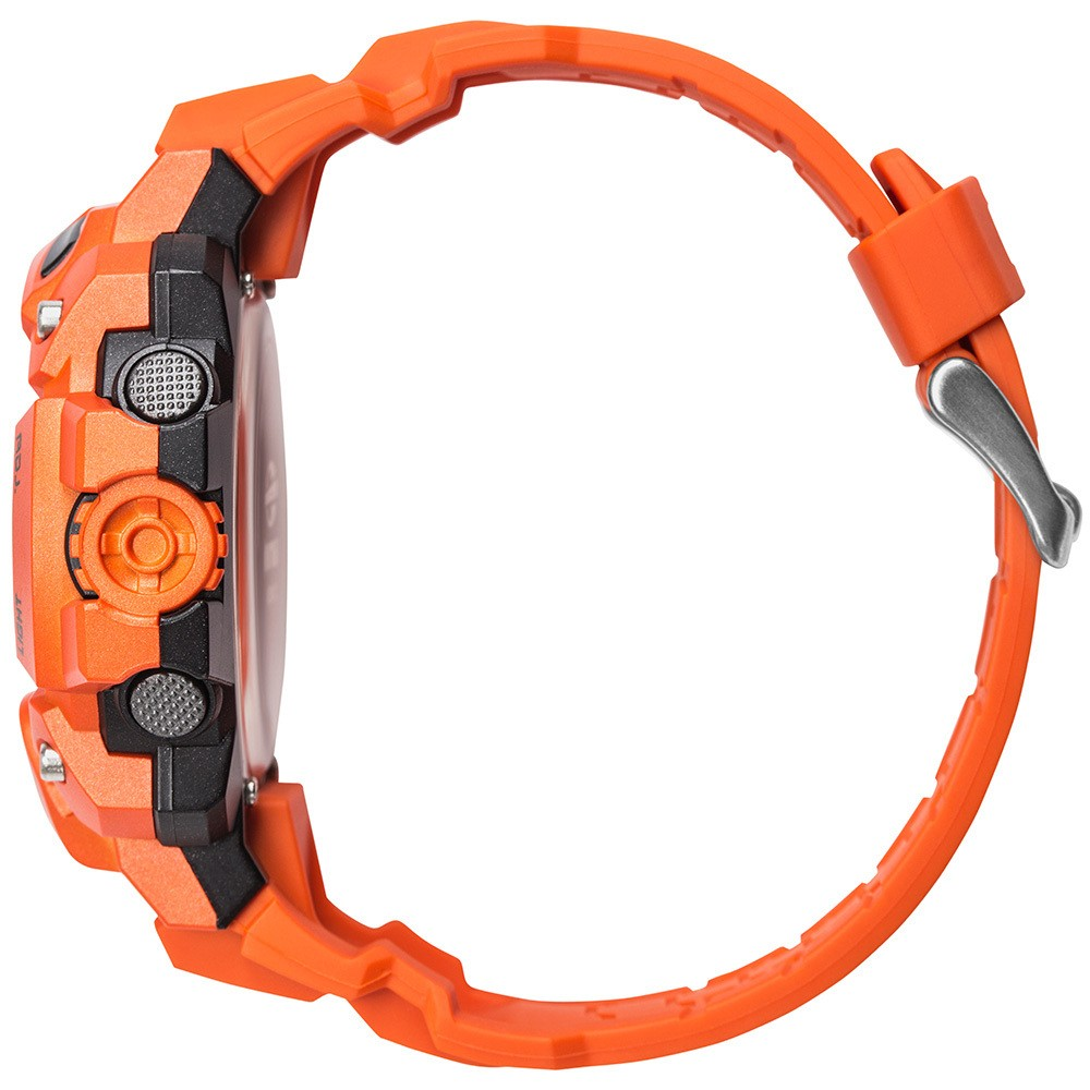 Relógio Masculino Mormaii Acquaforce Laranja À Prova D'água Digital Cronógrafo Alarme MOZM1132/8L