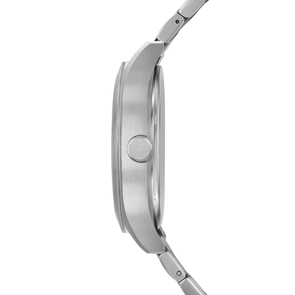 Relógio Masculino Technos Clássico Prata Classic Steel Aço Inoxidável Máquina Japonesa 2115MRBS/1P