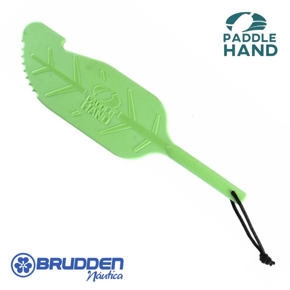 Remo de Apoio Paddle Hand Brudden Náutica Verde Lima Remo para Pesca