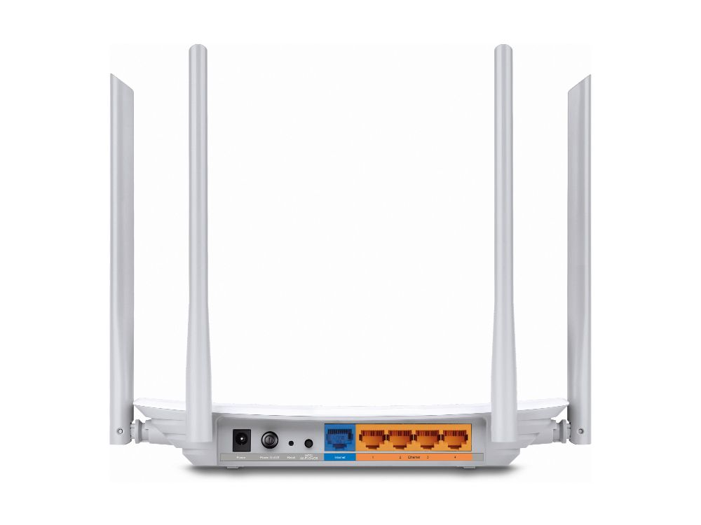 Roteador TP-LINK AC1200 Archer C50 Wireless Dual Band 867Mbps 5Ghz 300Mbps 2.4Ghz Facebook  Check-in