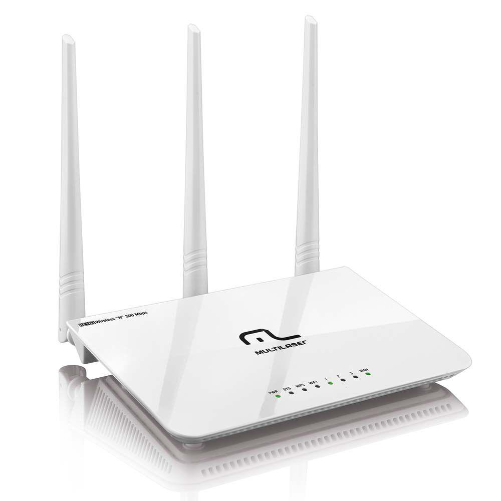 Roteador Wireless RE163V Multilaser 300 Mbps