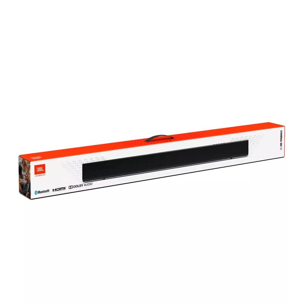 Soundbar JBL Cinema SB110 Dolby Digital Barra de Som 2.0 Bluetooth Subwoofer Embutido JBLSB110BLKBR