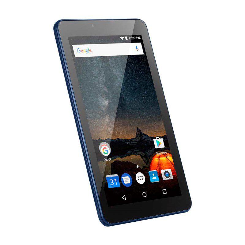 Tablet 7 Polegadas M7S Plus Multilaser NB274 Quad Core Azul