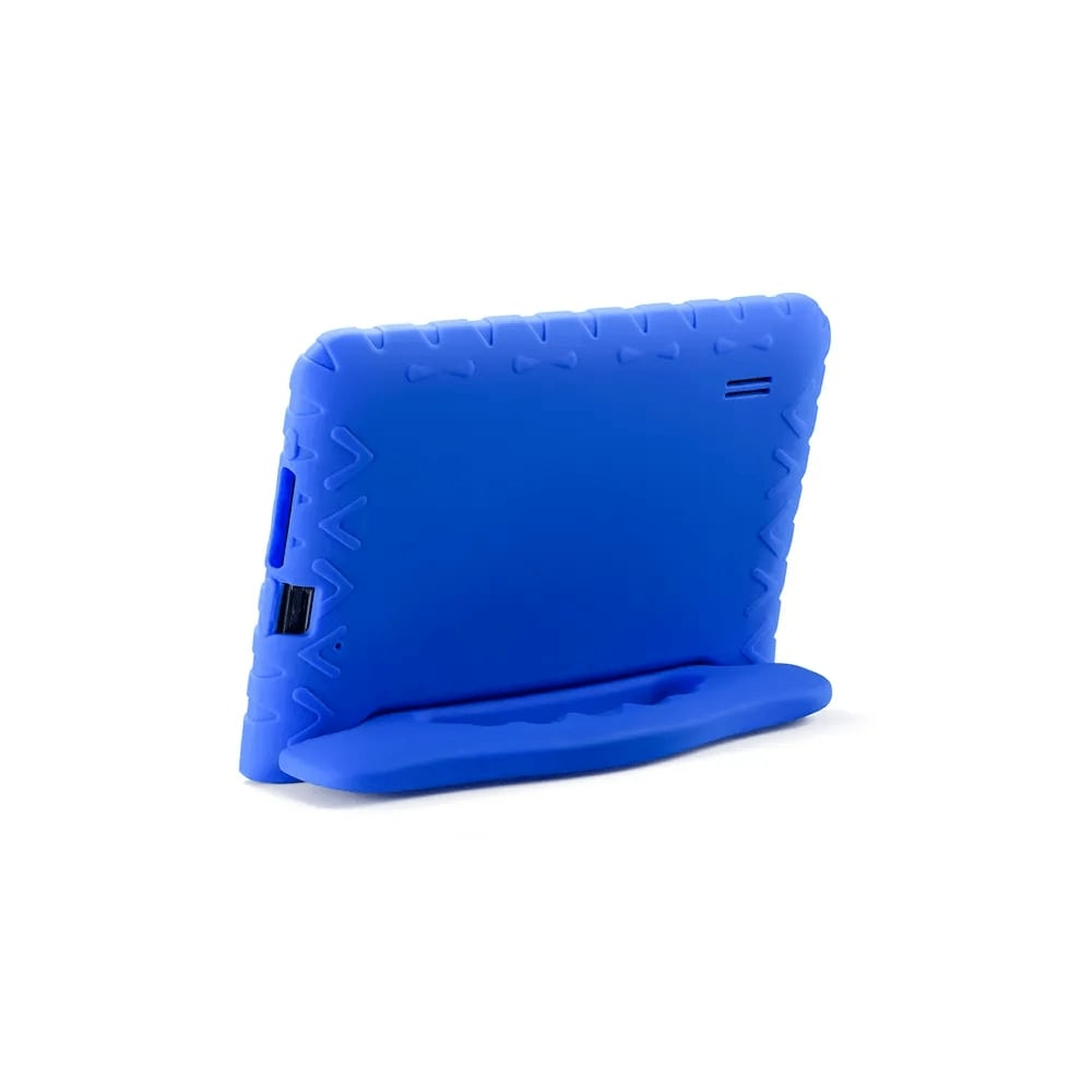 Tablet Infantil Kid Pad Go Multilaser NB302 Capa Azul 16GB Bluetooth Wi-Fi Youtube Netflix Jogos