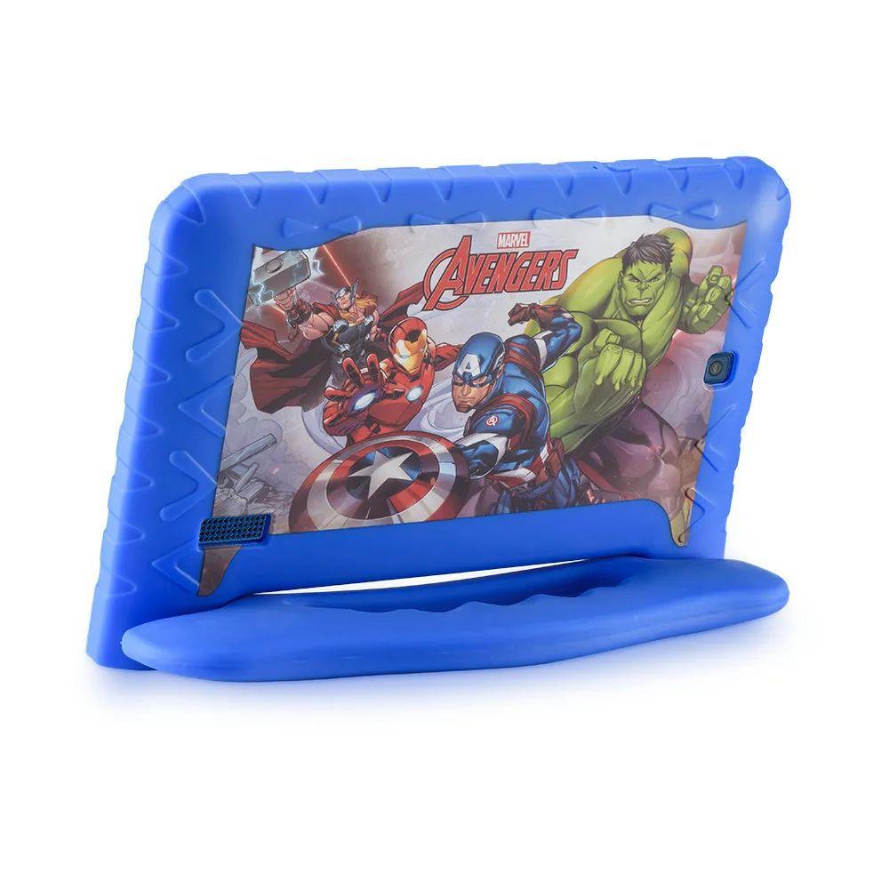 Tablet Multilaser Vingadores com 16 GB de Memória para Crianças