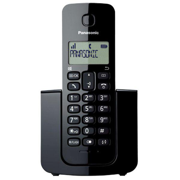 Telefone Digital Sem Fio Panasonic KX-TGB112LBB + 1 Ramal - ID