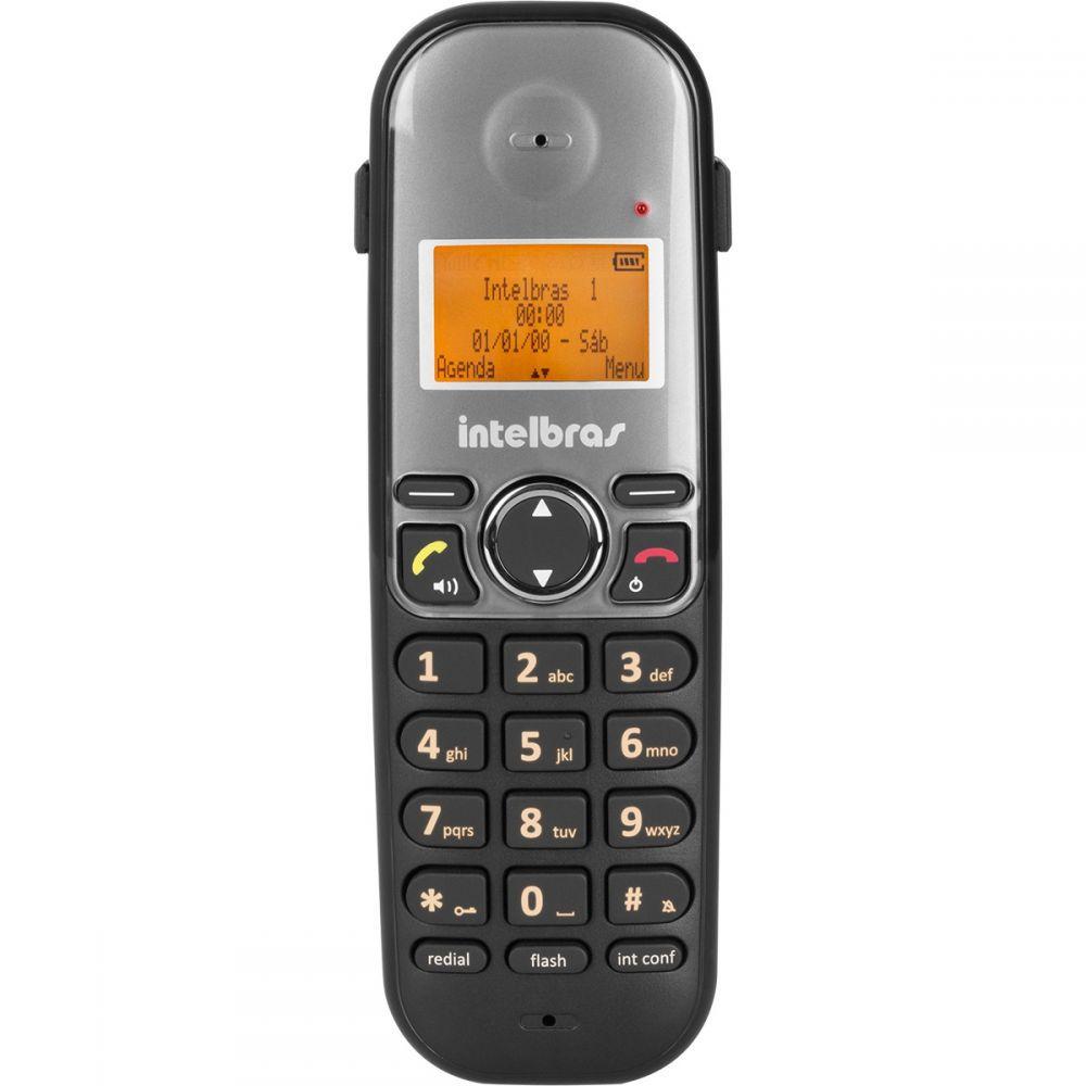 Telefone Sem Fio Intelbras TS5120 ID com Identificador de Chamadas e Entrada para Headset
