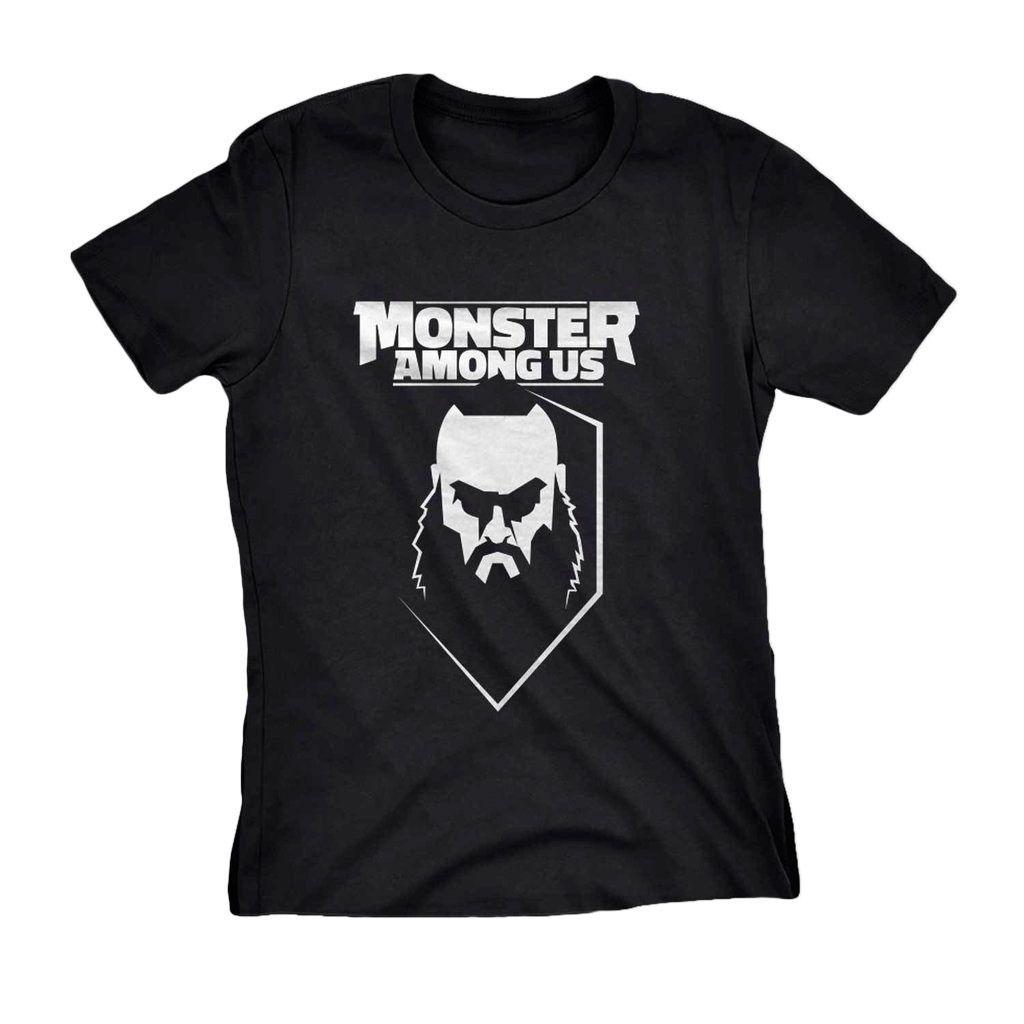 Babylook Feminina Braun Strowman The Monster Wwe