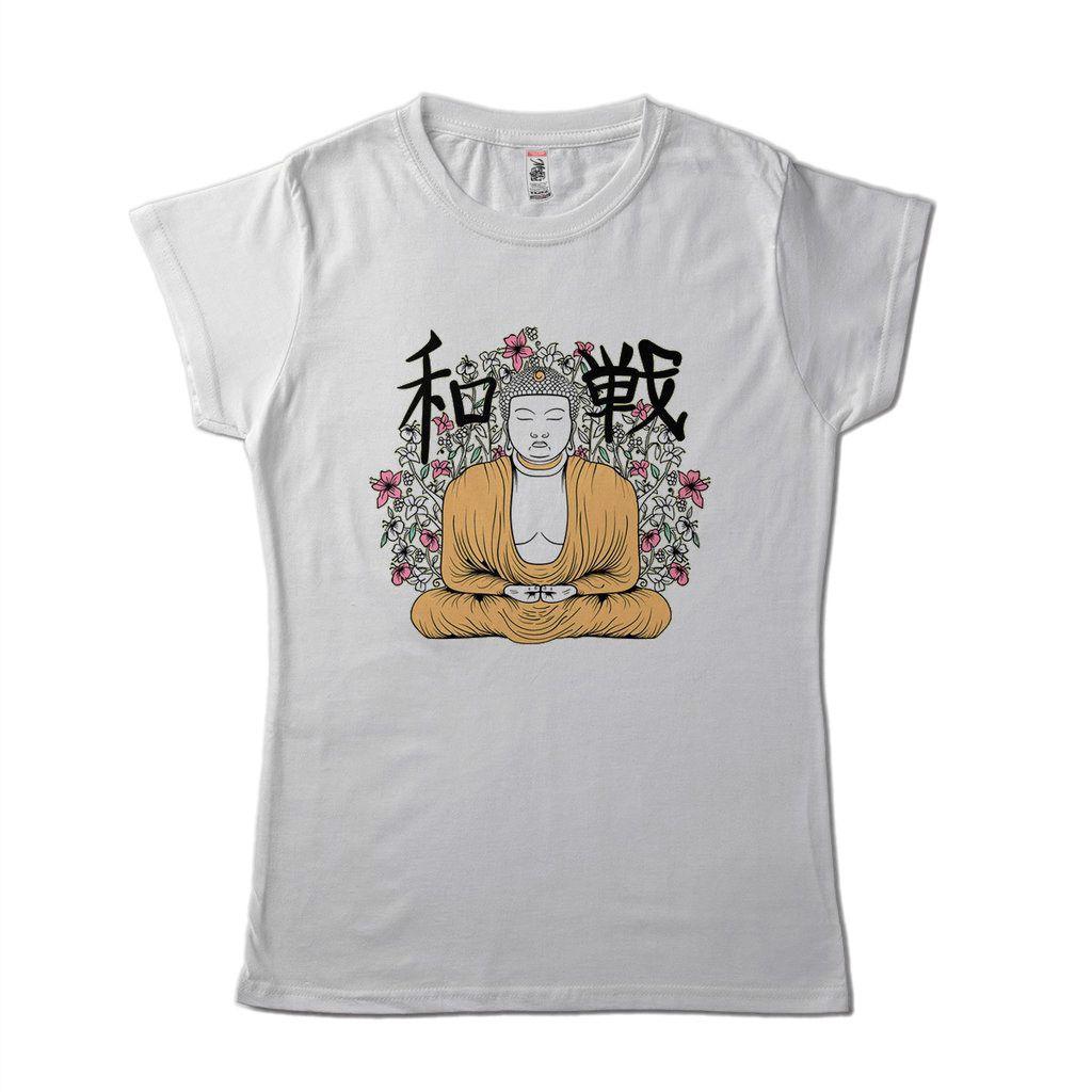 Blusa Feminina Filosofica Buda Estampa Criativa Inteligente