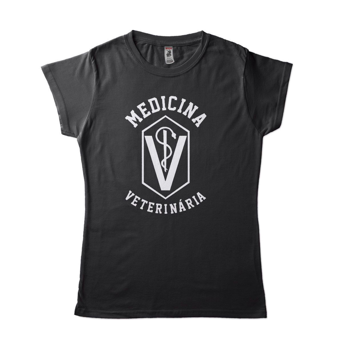 blusa medicina veterinaria feminina