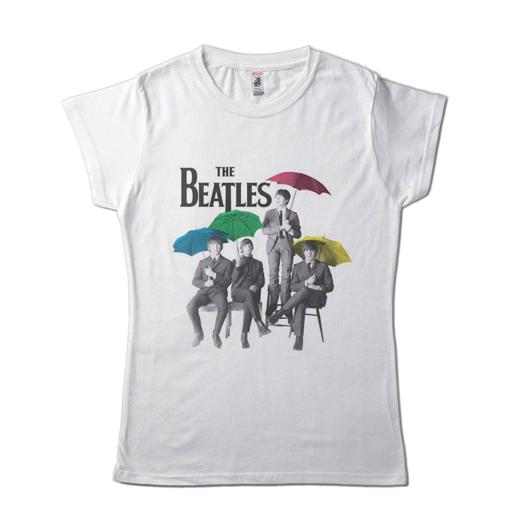 Blusa the beatles feminina tshirt bandas de rock