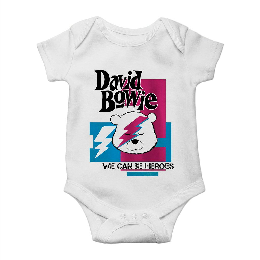 body bebe david bowie rock n roll unissex