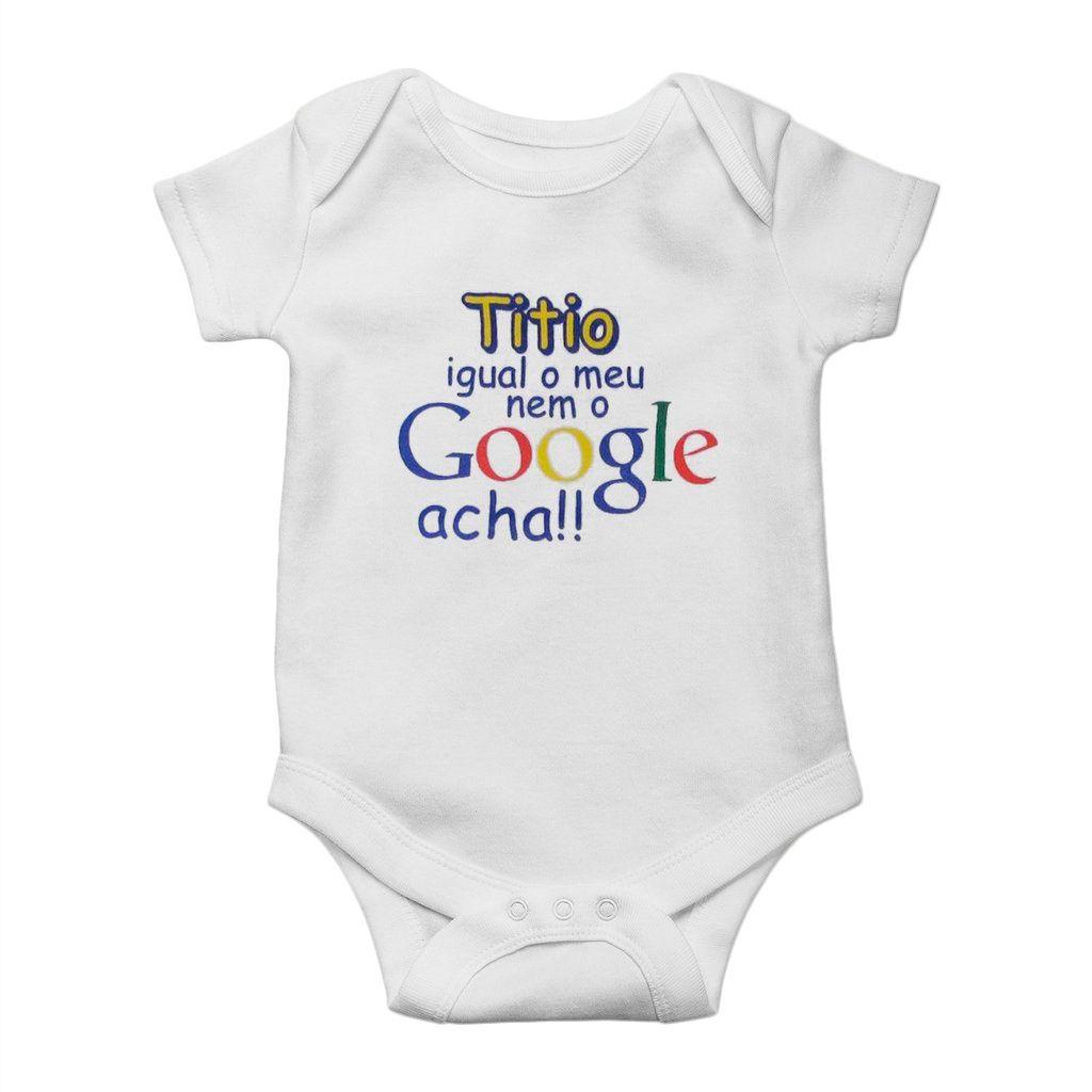 body bebe titio igual ao meu nem o google acha unissex