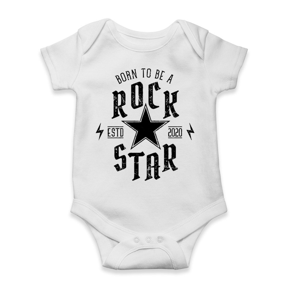 body bebe unissex rock star