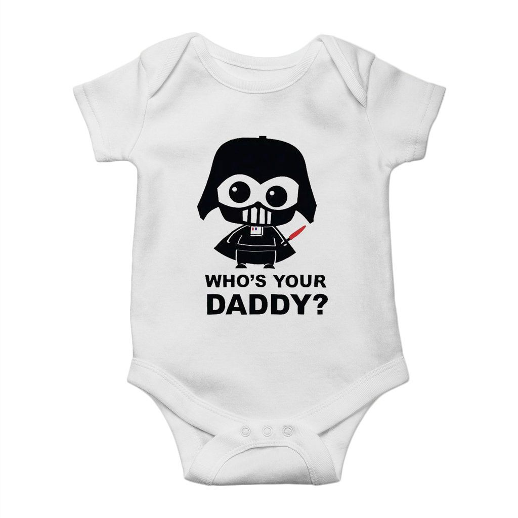 body darth vader your daddy divertido unissex