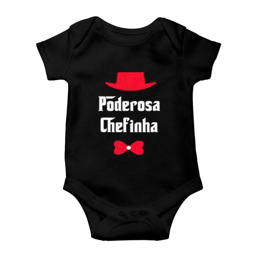 body divertido bebe poderosa chefinha unissex