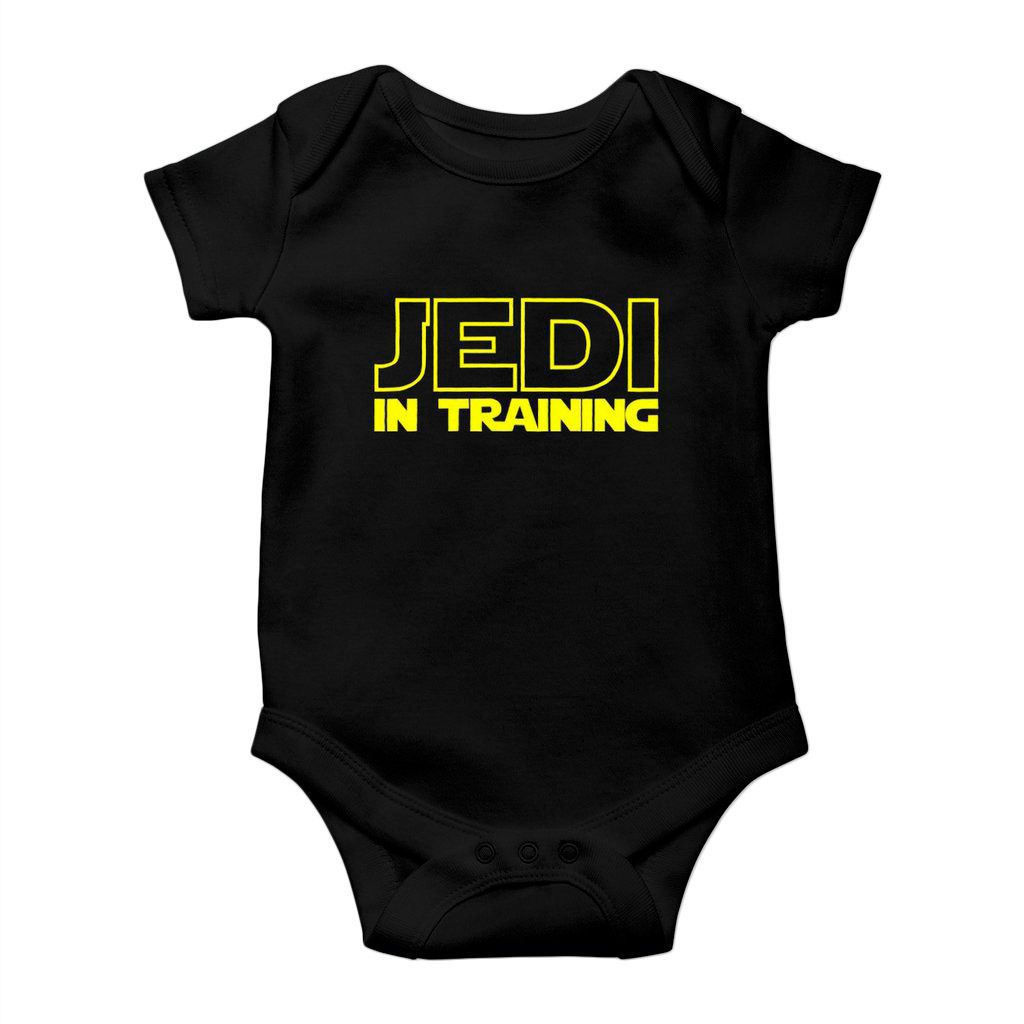 body divertido star wars jedi in training padawan unissex