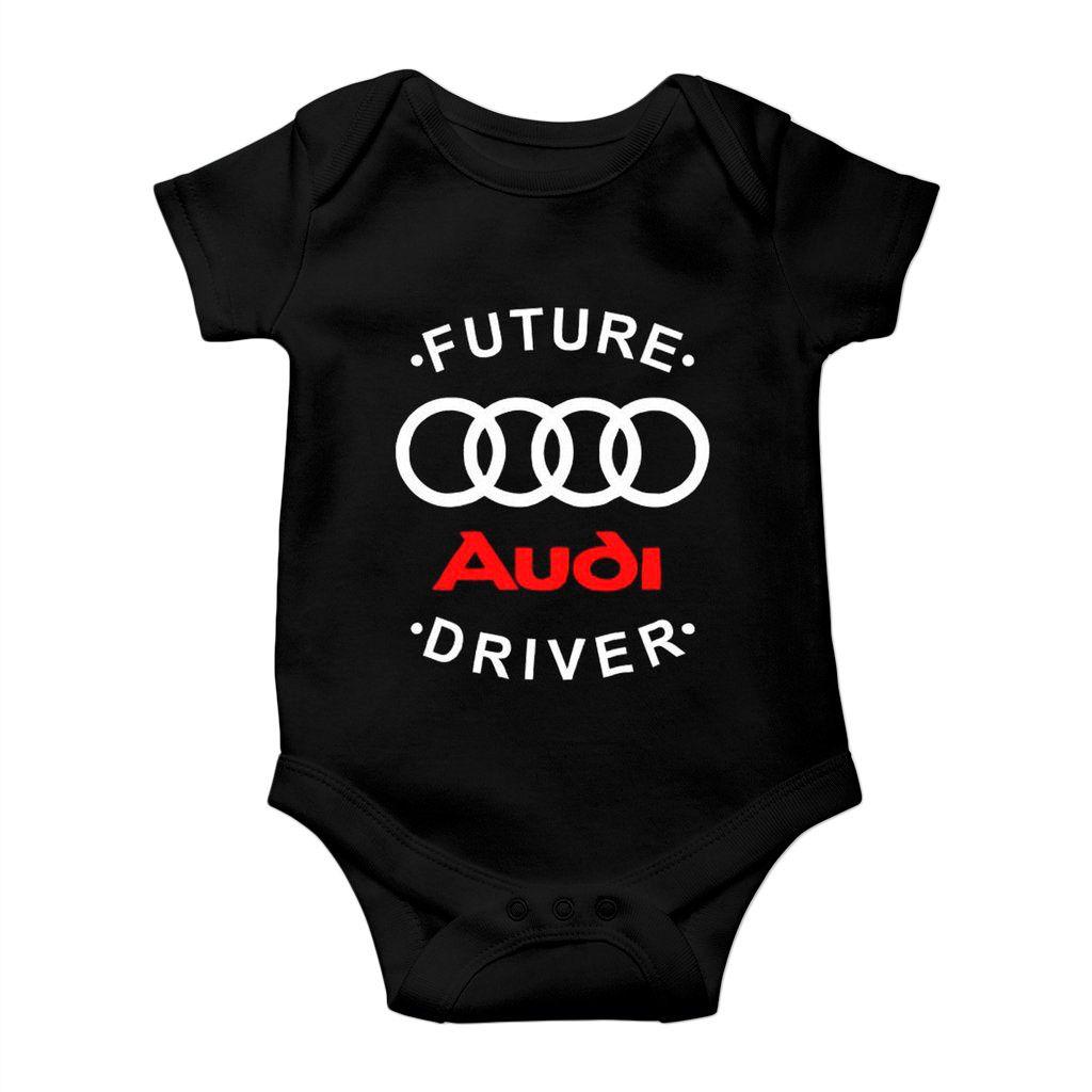 body para bebe audi driver carros vintage unissex