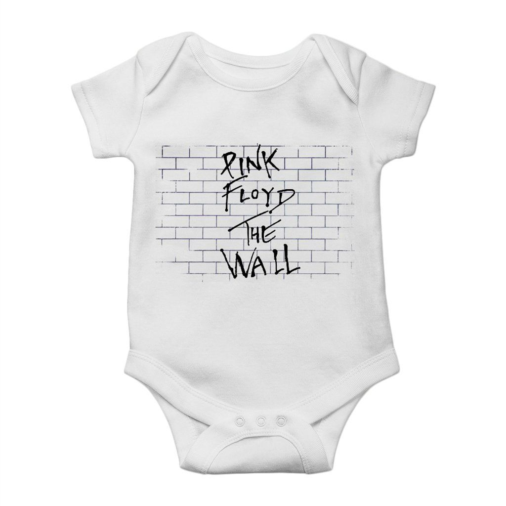 body rock para bebe pink floyd the wall unissex