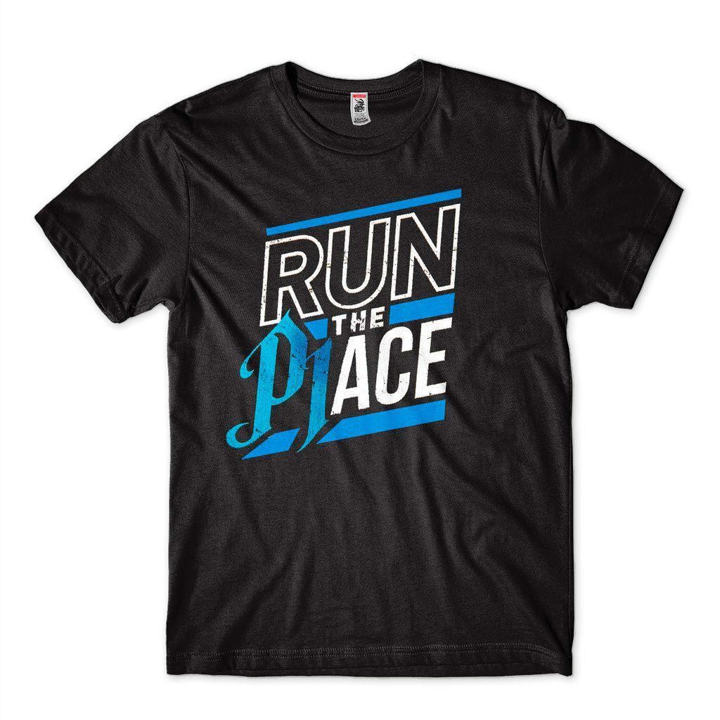 Camisa AJ Styles Run The Place WWE Preta Masculina