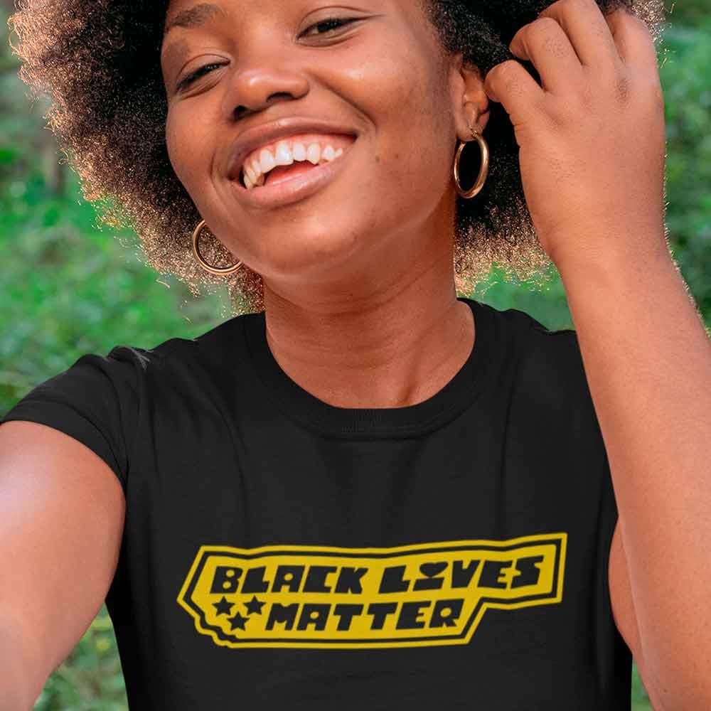 camisa ativista movimento negro
