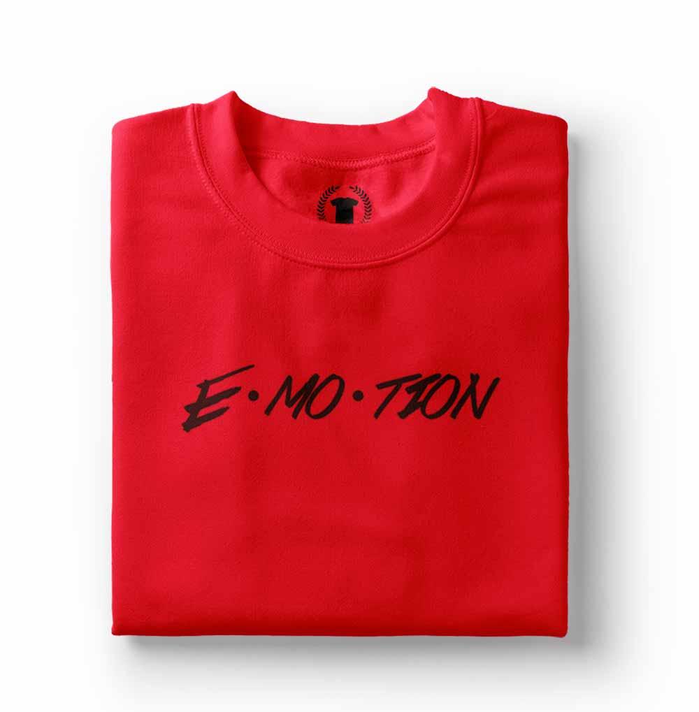 camisa Camiseta Carly Rae Jepsen Emotion vermelha