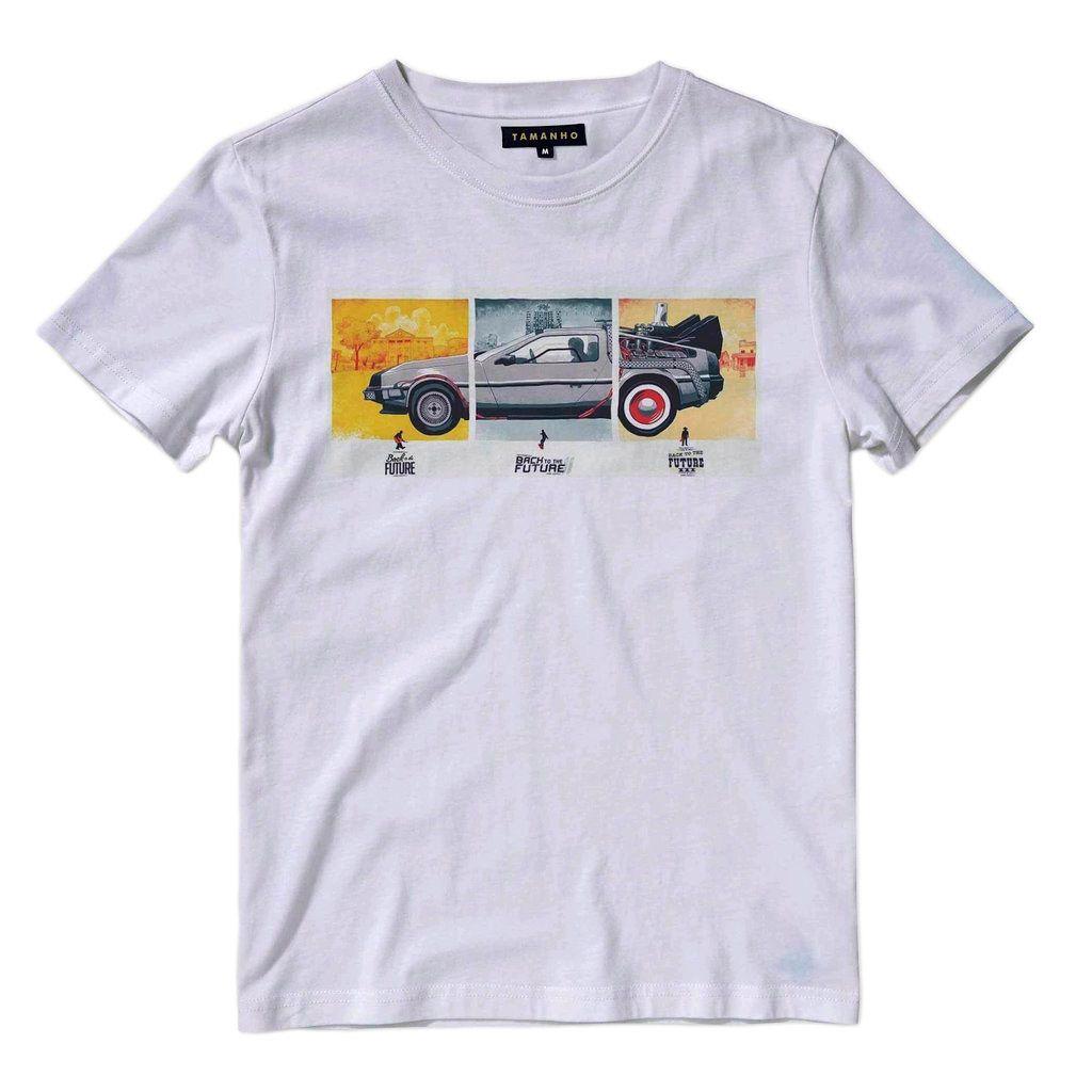 Camisa Camiseta Delorean De Volta Para O Futuro Geek