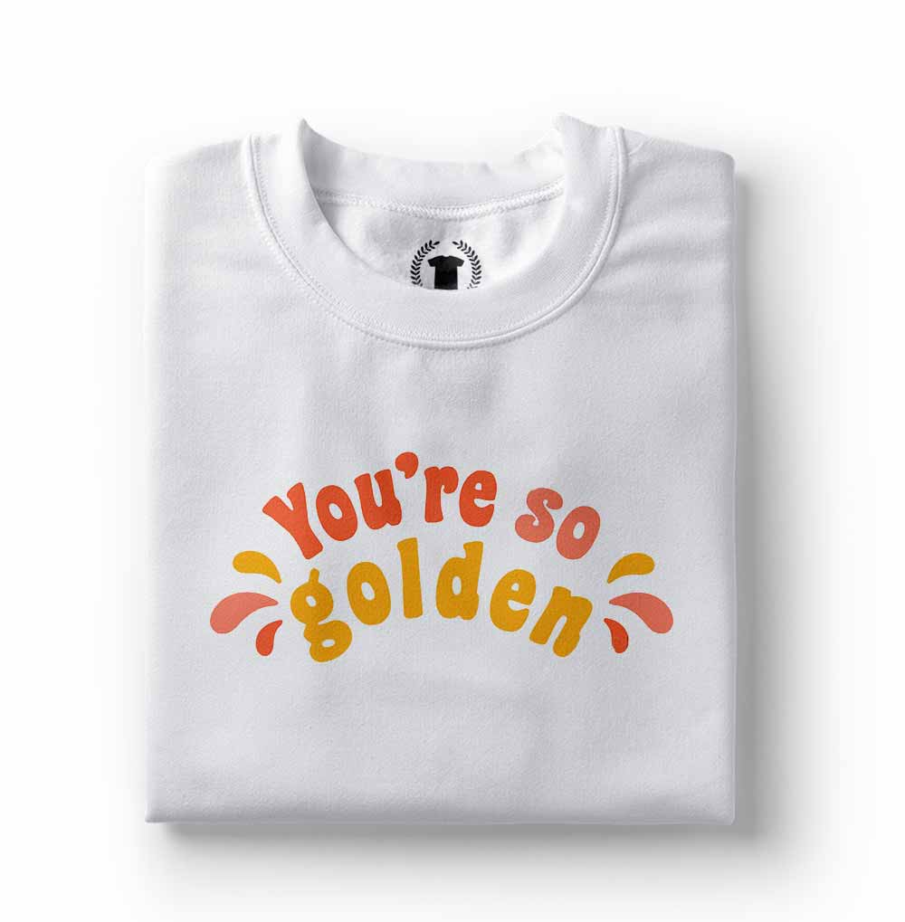 Camisa camiseta Harry Styles you are so golden branca