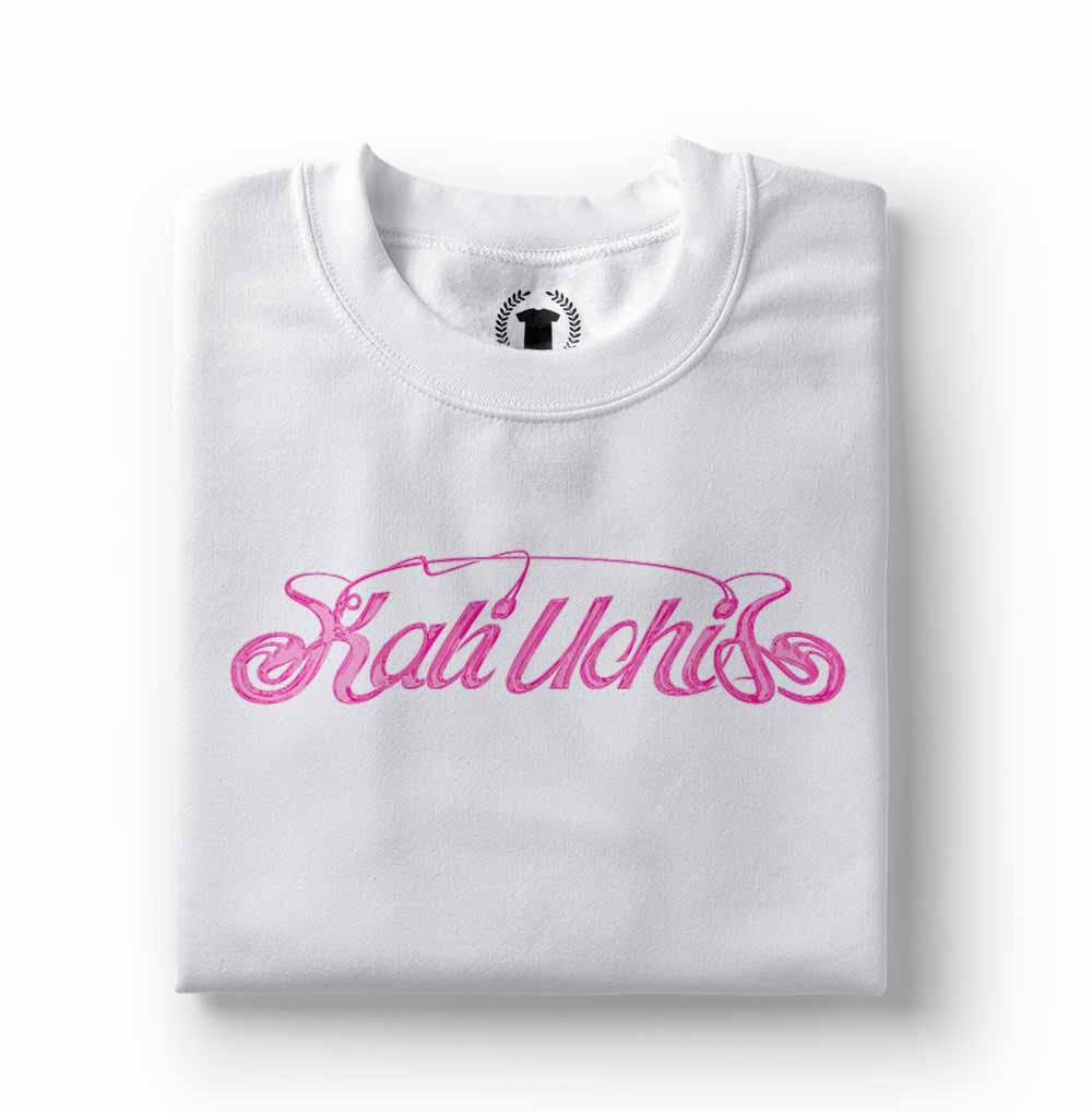 camisa Camiseta Kali Uchis branca