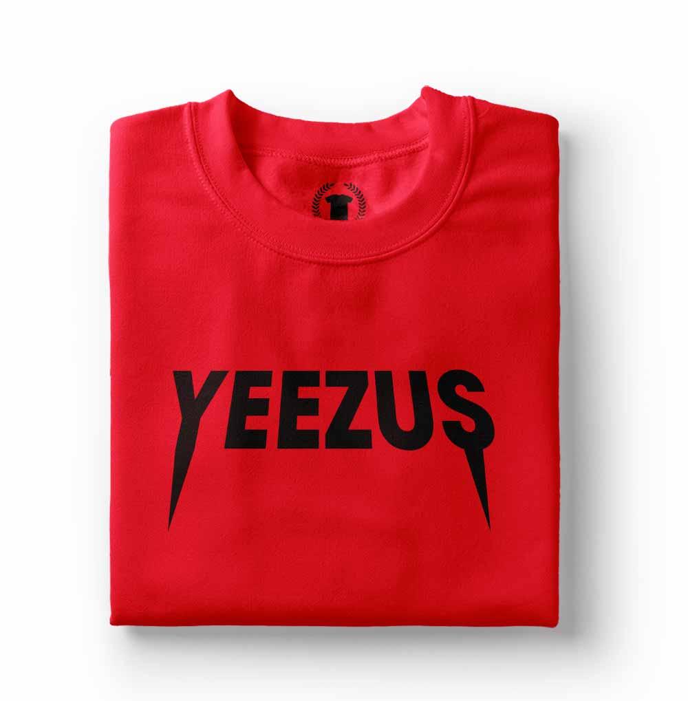 camisa Camiseta Kanye West Yeezus vermelha