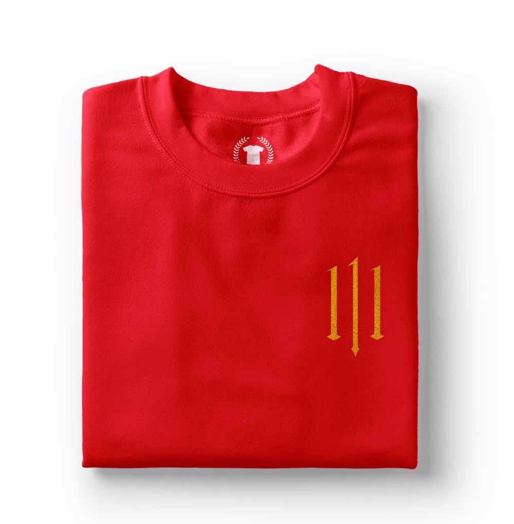 camisa Camiseta Pabllo Vittar 111 vermelha