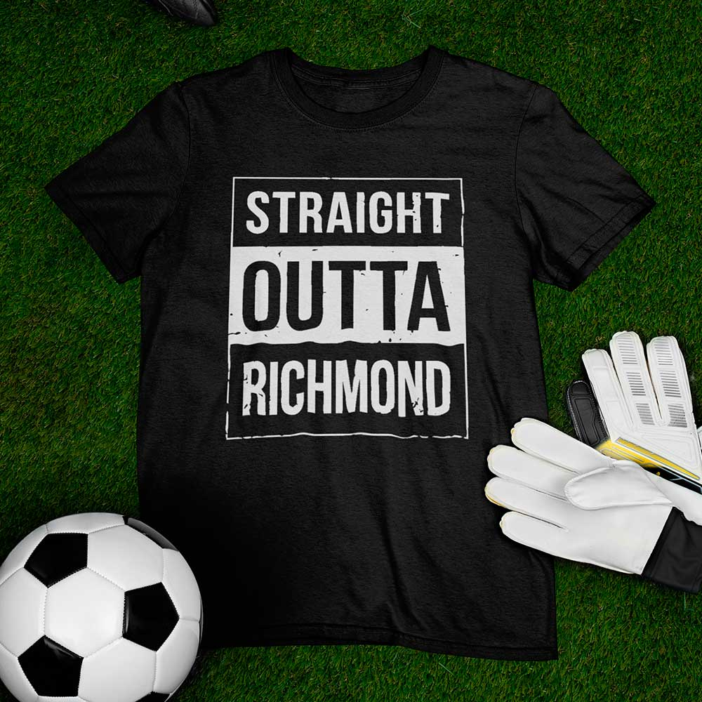 Camisa da Serie Ted Lasso straight outta richmond