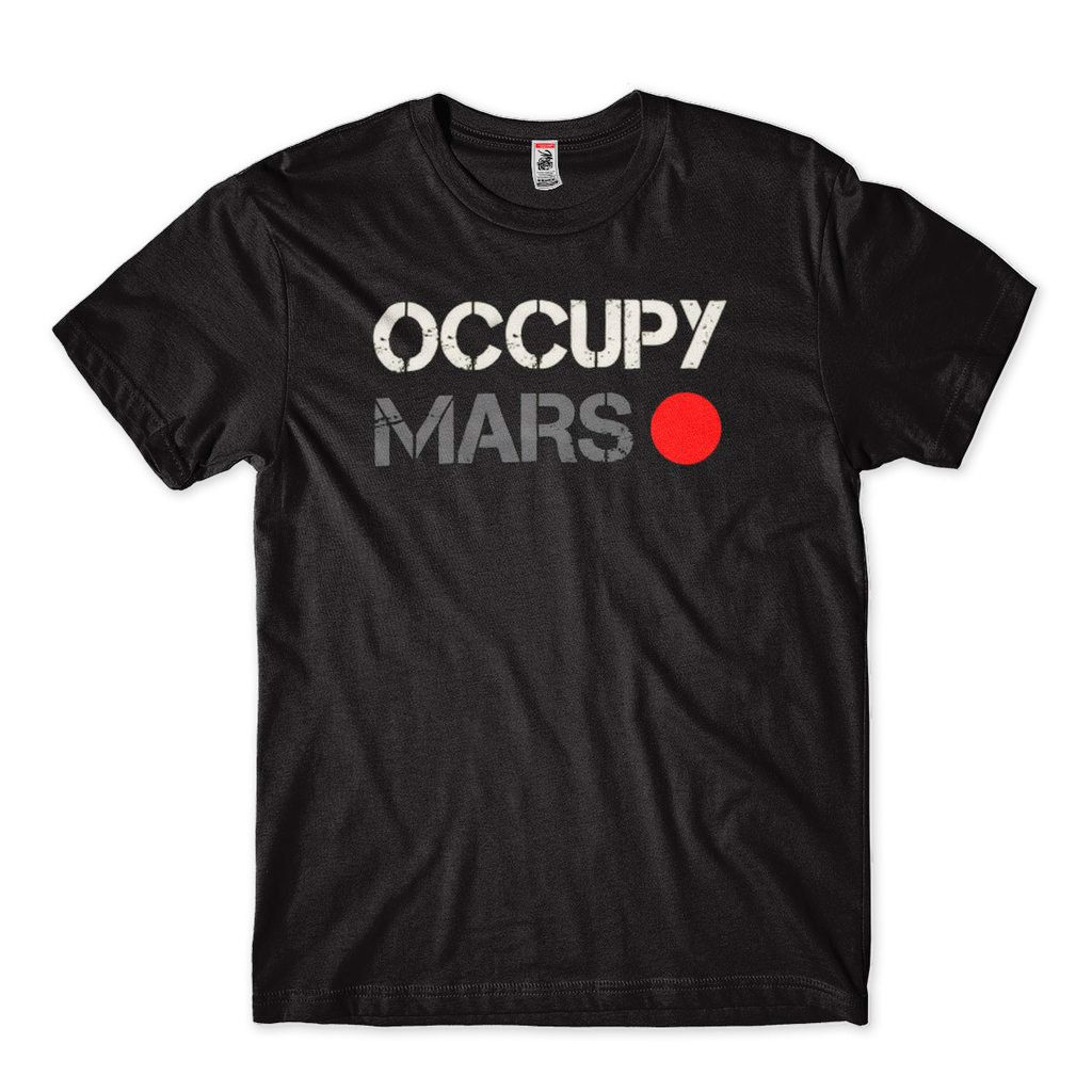 camisa elon musk spacex marte occupy mars