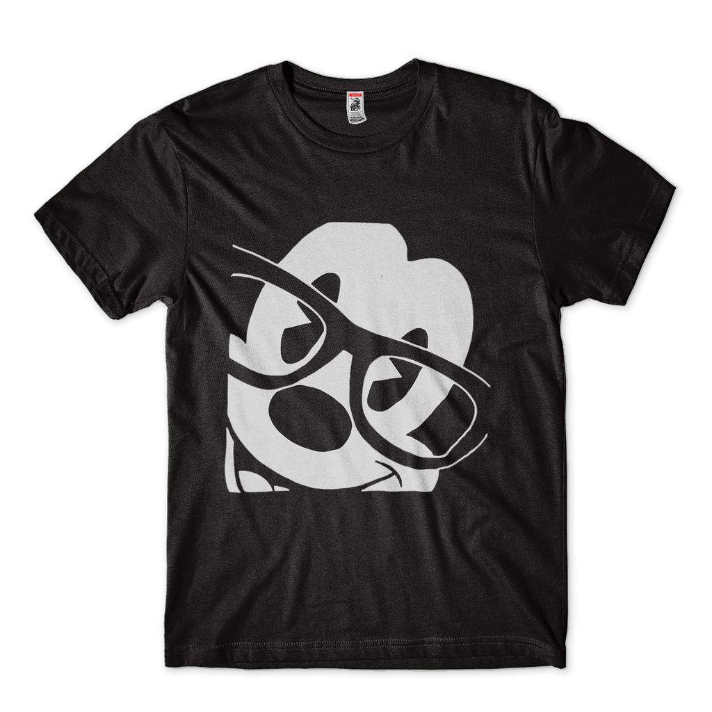 camisa estampa mickey de oculos preta masculina