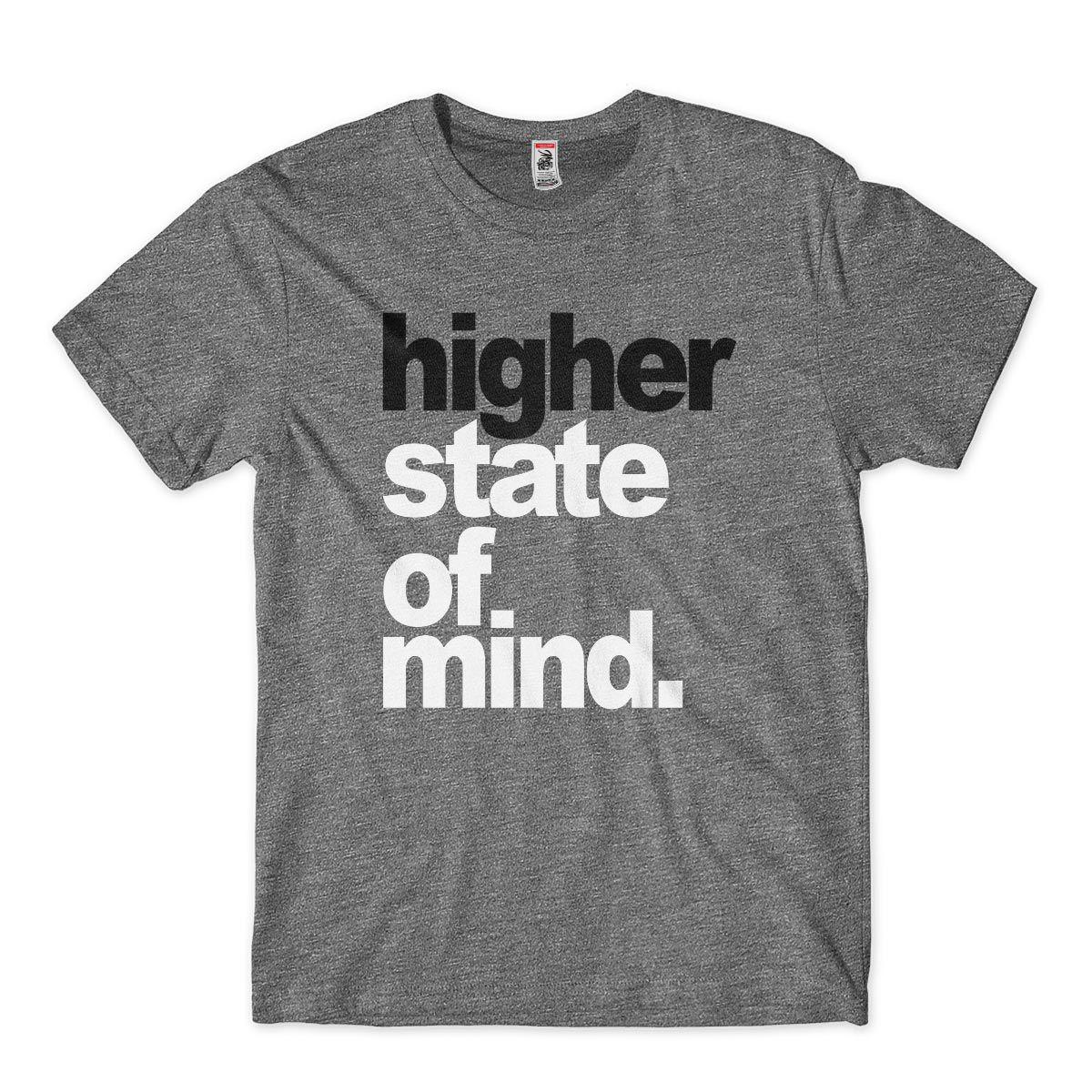 Camisa Higher State Of Mind Estado de consciencia elevada Cannabis
